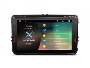 """8"""" Android 6.0 Marshmallow HD Digital Multi-touch Screen 1080P Video Car DVD Player Custom Fit for V"""