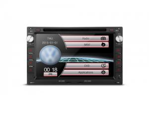 "7"" HD Digital Touch Screen Dual CANbus GPS Navigator Car DVD Player with Screen Mirroring Function C"