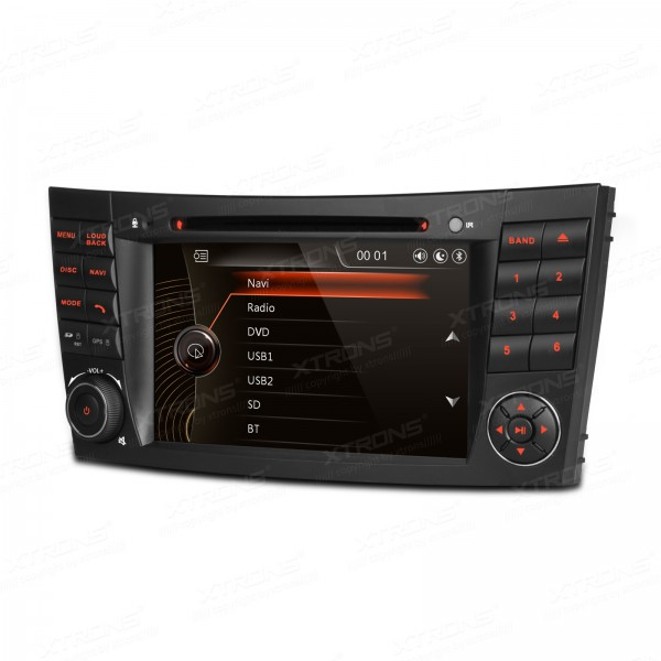 """7"""" 1080P Video Capacitive Touch Screen Car DVD Player with GPS Navigator CANbus for Mercedes-Benz"""
