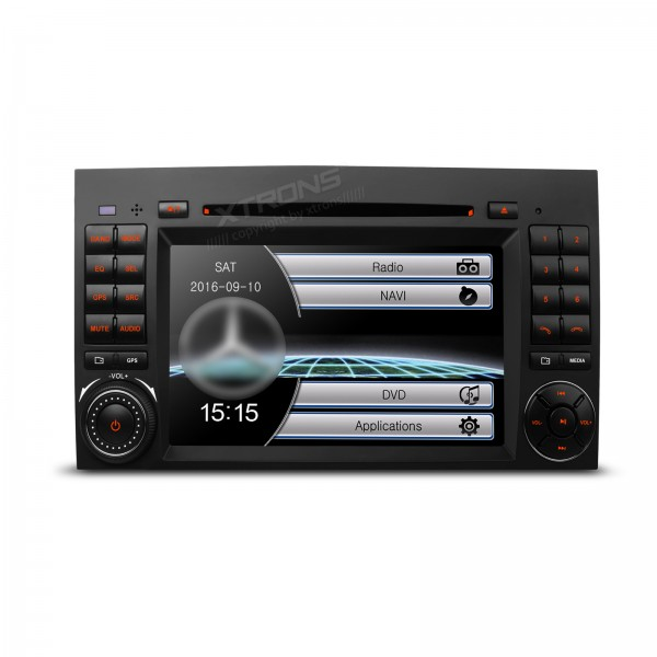 """7""""HD Digital Touch Screen Dual CANbus GPS Navigation Car DVD Player With Screen Mirroring Function"""
