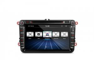 """8"""" HD Digital Touch Screen Dual CANbus GPS Navigator Car DVD Player with Screen Mirroring Function C"""