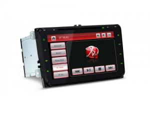"8"" HD Digital Capacitive Touch Screen Dual CANbus GPS Navigator with Screen Mirroring Function Custo"