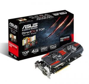 ASUS AMD R9 270X 4GB DDR5 2xDVI/HDMI/DisplayPort Direct CU II
