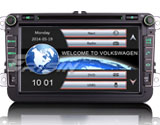 "Erisin ES8015V 8"" 3G Online Car Radio for VW Passat"