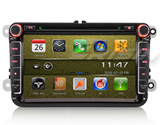 "Erisin ES9711V 8"" Car DVD GPS 3G DVB-T2 for VW"