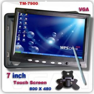 "7"" Touch Screen Monitor med XGA/VGA ingångar"