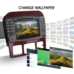 """7"""" Benz S/CL-Class Car GPS Navigation Android 7.1 Auto Radio DVD Player 8GB Card"""