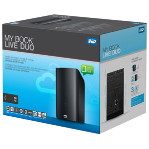 WD My Book Live Duo 4TB
