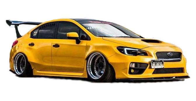 Subaru Wrx Sti 2015 2019 Wide Body Kit Angry Acorn Design