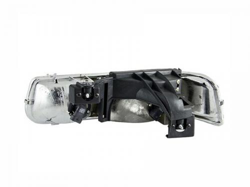 Chevrolet Suburban 2000-2006 (EJ GMC / NOT GMC) Crystal Headlights Chrome ANZO