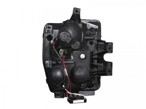 FORD F-250 Super Duty 2008-2010 Projector Strålkastare Med Halo Krom (SMD LED) ANZO