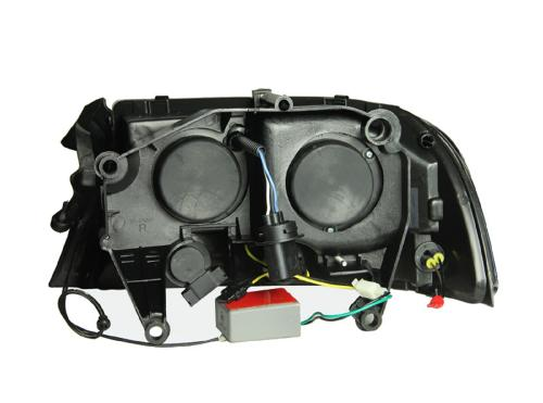 Dodge Durango 1998-2003 Projector Strålkastare Med Halo Krom 1 pc ANZO