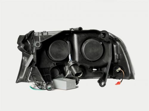 Dodge Durango 1998-2003 Projector Strålkastare Med Halo Svart 1 pc ANZO