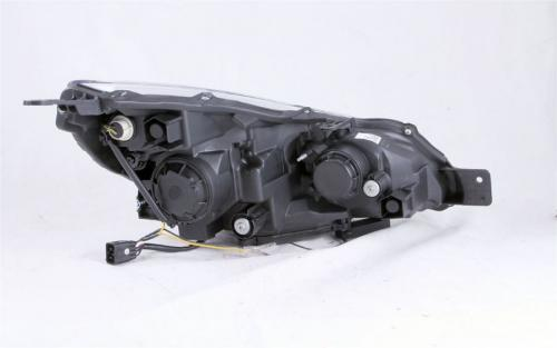 Subaru OUTBACK 2010-2014 Projector Headlights w/ U-Bar Black ANZO