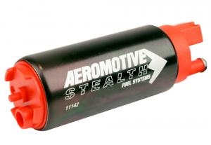 340 Series Stealth In-Tank Fuel Pump, Offest Inlet - inlet inline w/ outlet Aeromotive