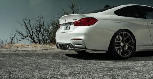 BMW M3 / M4 F8x GTS Diffuser Kolfiber Vorsteiner