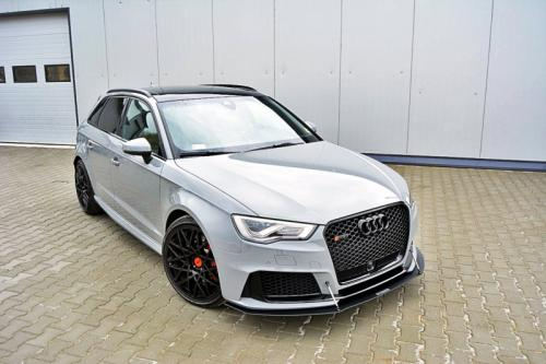 Audi RS3 15-16 8V Sportback Racingsplitter Maxton Design