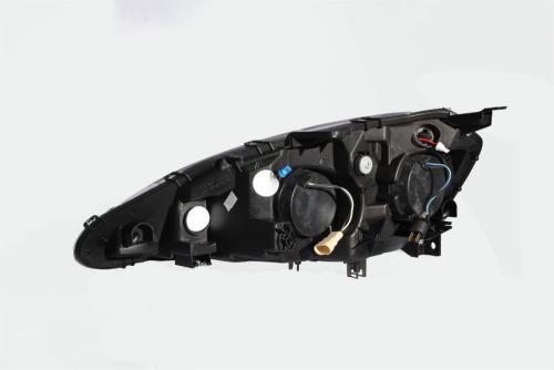 Acura RSX 2005-2006 Projector Strålkastare Med Halo Svart ANZO