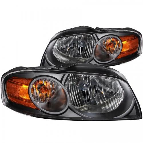 Nissan SENTRA 2004-2006 Crystal Headlights Black ANZO
