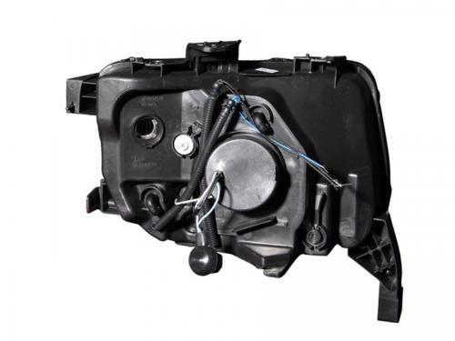 Honda ELEMENT 2003-2006 Projector Strålkastare Med Halo Svart ANZO