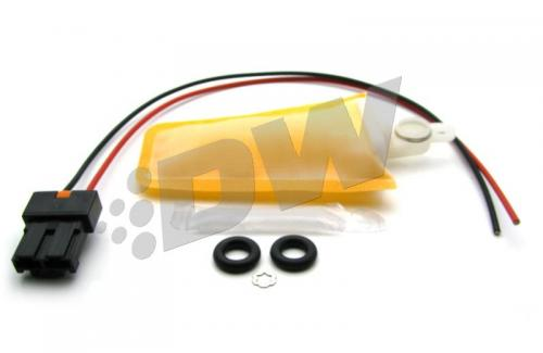 Elise/Exige 04+ / Celica 00-05 / MR2 spyder 00-05 / Corolla/Matrix 03-04 Monteringssats För DW300 & DW65C Bränslepump Deatschwerks