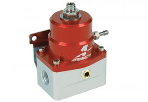 A1000-6 Injected Bypass Regulator, Adjustable, EFI, (2) -6 inlets, (1) -6 return Aeromotive