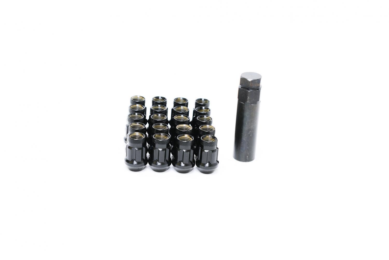 99-05 16+4 12x1.5 Nuts for Vauxhall Zafira Black Wheel Bolts /& Locks A
