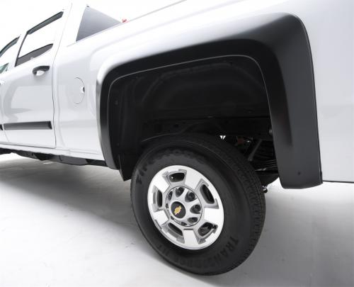 92-96 Ford F150/Bronco / 92-98 Super Duty Rugged Look Fender Flares / Skärmbreddare - Bakre Par (753014R) EGR