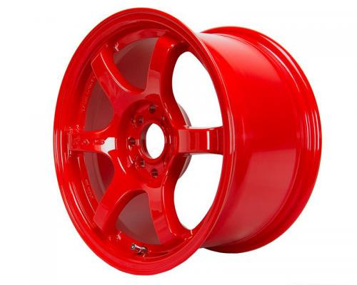 Gram Lights 57DR, 15X8.0, 35, 4x100, RED