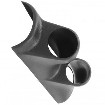 Mätarhållare A-stolpe Dubbel 52.4mm DODGE DAKOTA 00-01 / DURANGO 00-02 Autometer