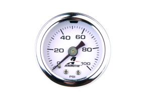 0 to 100 psi Fuel Pressure Gauge Aeromotive