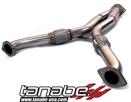 350Z / 370Z Y-pipe Tanabe