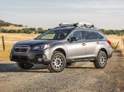 "Subaru Outback AWD 15-19 SST Lift Kit / Höjningssats 2"" Fram 1.5"" Bak ReadyLift"