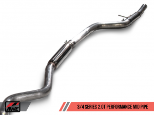AWE Performance Mid Pipe for BMW F3X 340i / 440i