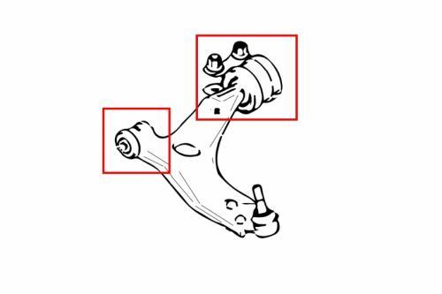 MAZDA3 FRONT LOWER ARM BUSHING(HARDEN RUBBER) 4PCS/SET Hardrace