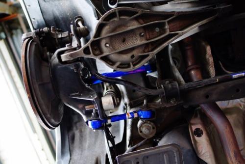 Volvo S60 / V60 / XC60 / V70 / XC70 / S80  Bakre Toe & Camber-Kit (Harden Rubber) 4PCS/SET Hardrace