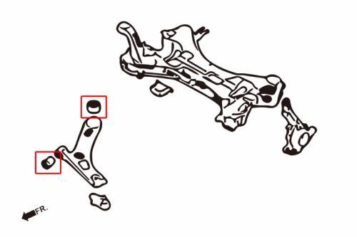 Hyundai / KIA Främre Nedre Länkarmsbussningar (Förstärkta Gummibussningar) 4 Delar/Set Hardrace