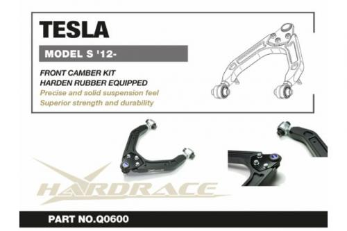 Tesla Model S FRONT CAMBER KIT (Harden Rubber) - 2PCS/SET