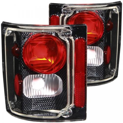 Chevrolet Suburban 1973-1991 Taillights Carbon ANZO
