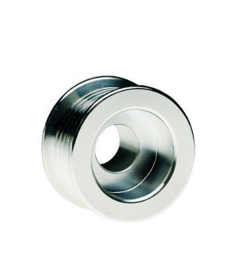 Billet, Alternator 32% Overdrive Pulley (Serpentine Belt), Ford & GM Aeromotive