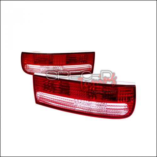 FORD F-250 1992-1998 Super Duty Taillights Chrome ANZO