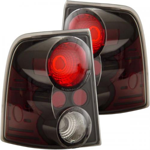 FORD Explorer 2002-2005 Taillights Black ANZO