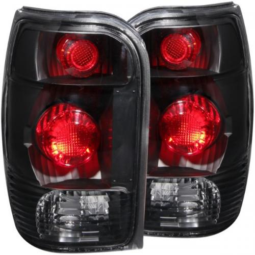 FORD Explorer 1998-2001 Taillights Black ANZO