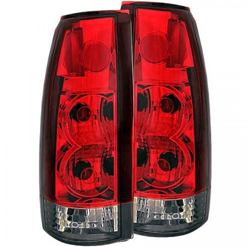 Chevrolet Suburban 1992-1999 Taillights Red/Smoke G2 ANZO