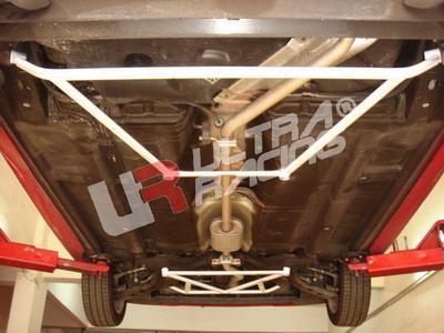 Kia Picanto UltraRacing 4-Point Rear Lower Brace