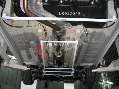 Peugeot 308 Turbo + RCZ UltraRacing Rear Lower Tiebar