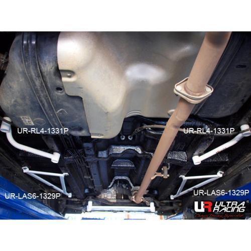 Kia Sportage 10+ 2WD Diesel UltraRacing 2x 3-Punkts Främre Sidostag