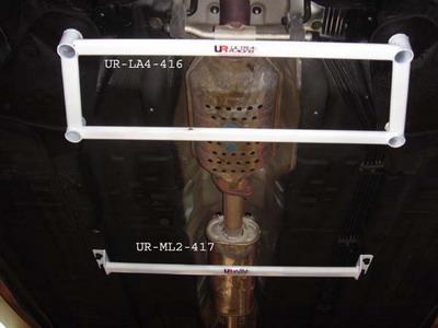 Kia Optima 05-10 UltraRacing 2-Point Mid Lower Bar
