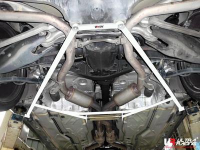 Mercedes SL 350 02-11 UltraRacing 6-Punkts Bakre Nedre Stabiliseringsstag
