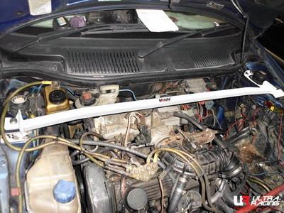 Fiat Punto 1 Cabrio UltraRacing 2-Punkts Främre Fjäderbensstag